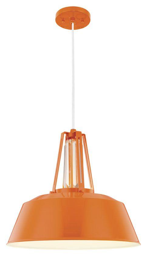 retro lighting pendants. murray feiss p1304shog freemont contemporary hi gloss orange finish 14375 retro lighting pendants