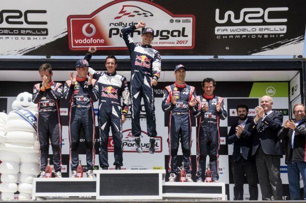 Sebastian Ogier świętuje kolejną wygraną w WRC #WRCPortugal https://www.moj-samochod.pl/Sporty-motoryzacyjne/Sebastian-Ogier-wygrywa-w-Portugalii-po-raz-piaty