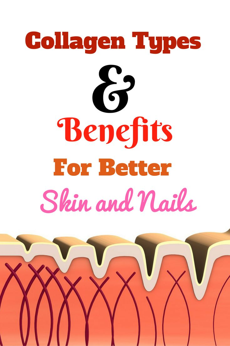 Collagen Types and Benefits for Beautiful Skin and Nails