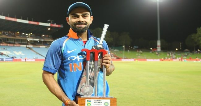 Disciplined bowling and unbeaten century by skipper Virat Kohli helped India outplay South Africa by eight wickets in the sixth and final One-day International (ODI) at the Supersport Park here on Friday.