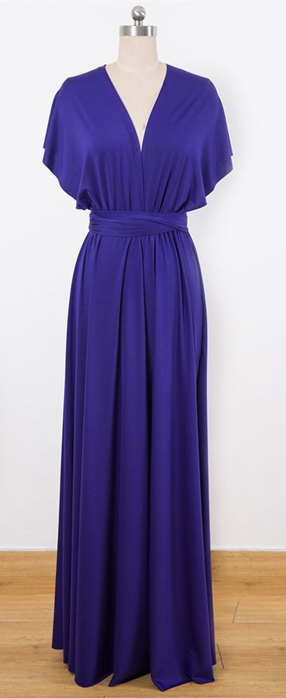 c1e29ac63705 Purple Multiway Wrap Dress,Infinity Dress,Convertable Bridesmaid Dress # Purple #dresses #Infinity #bridesmaid #Convertible