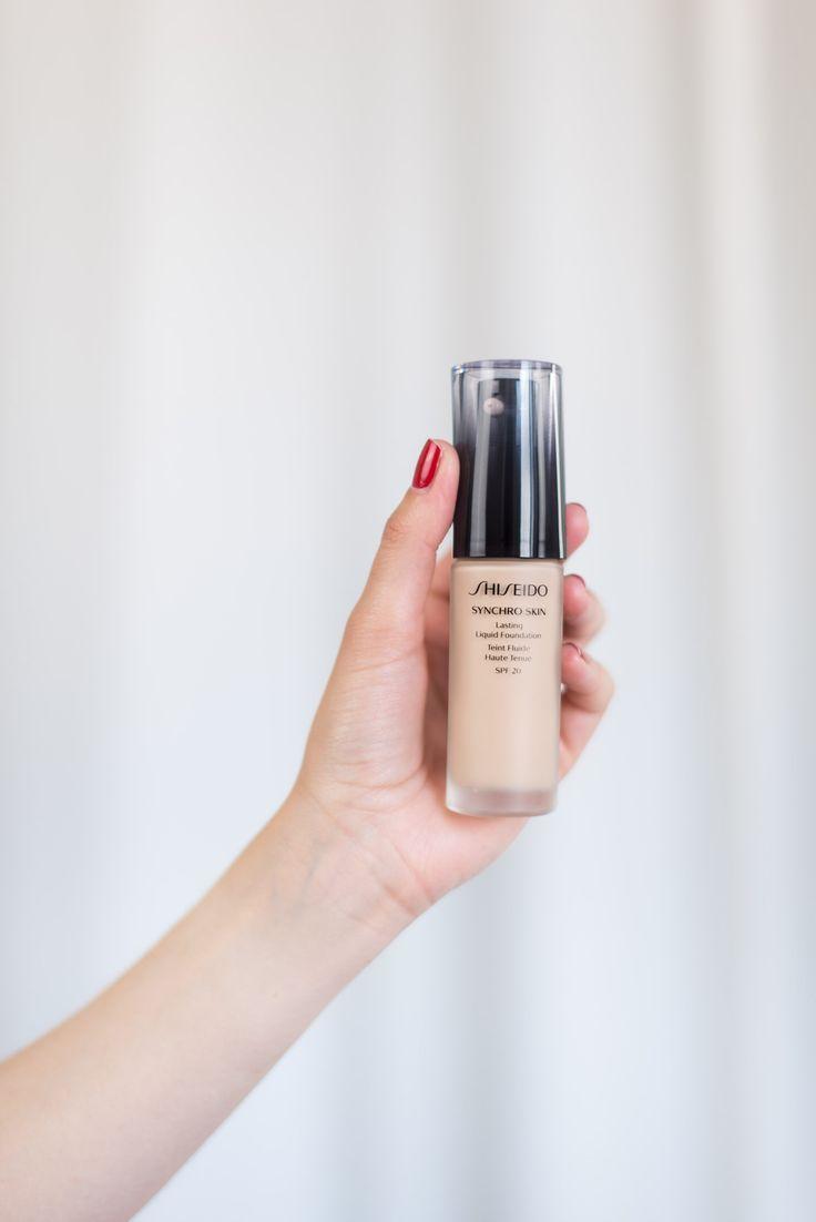 [En direct] Le fond de teint synchro skin de shiseido - Mode and the city @modeandthecity