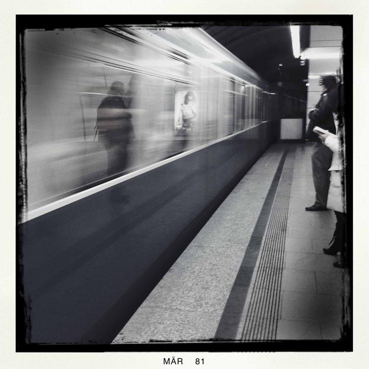 Way home - Tube