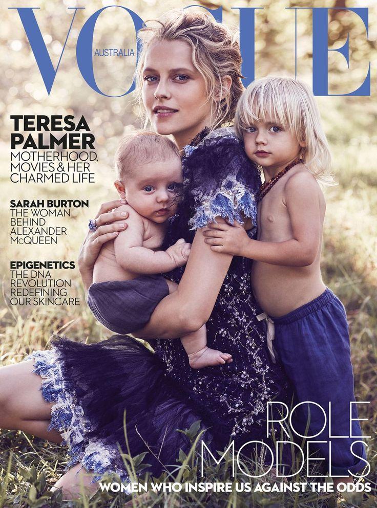 Teresa Palmer for Vogue Australia May 2017.