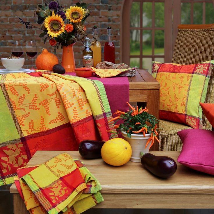tischdecke lyon im fanz sischen stil von sander tischdecken pinterest. Black Bedroom Furniture Sets. Home Design Ideas