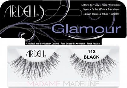 Ardell Fashion Lashes #113- Crazy Long Lashes for a dramatic feathery look like for deer makeup #ardelllashes