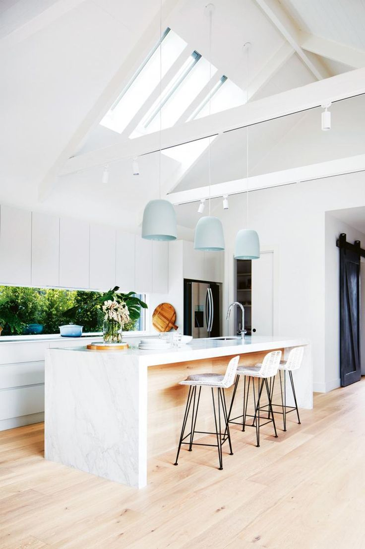 Those skylights!! Design perfection by Deanne Jolly.