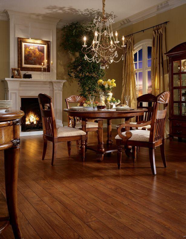 Laminate Flooring Image And Design Gallery Faux Natural Hardwood Laminate Dining Room Flooring