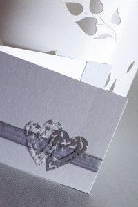 Creative Company | Cards Galore: Elegant silver heart