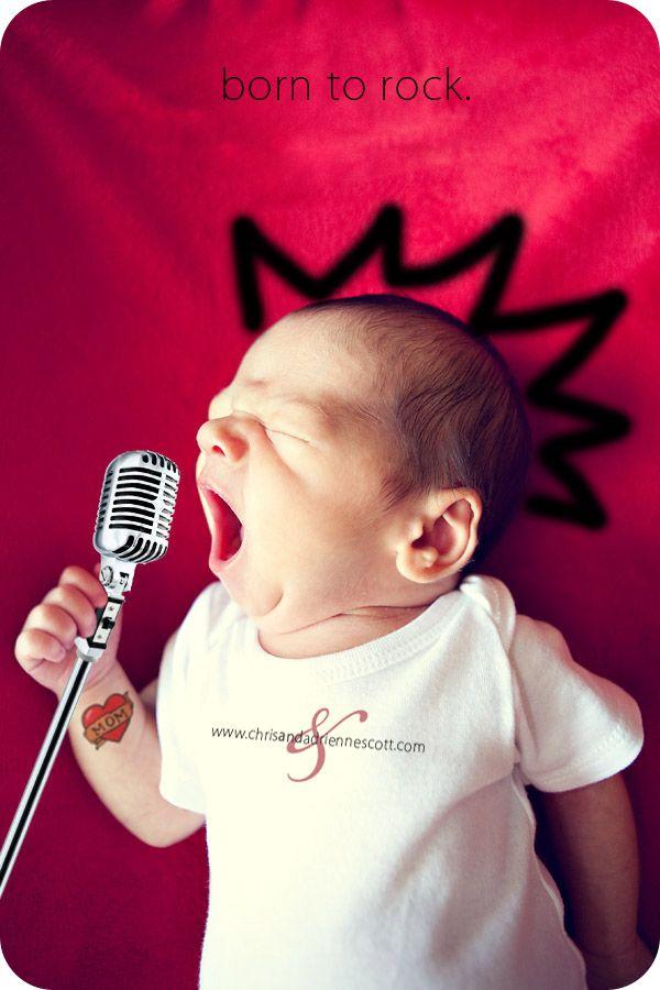 Bebé rockero.