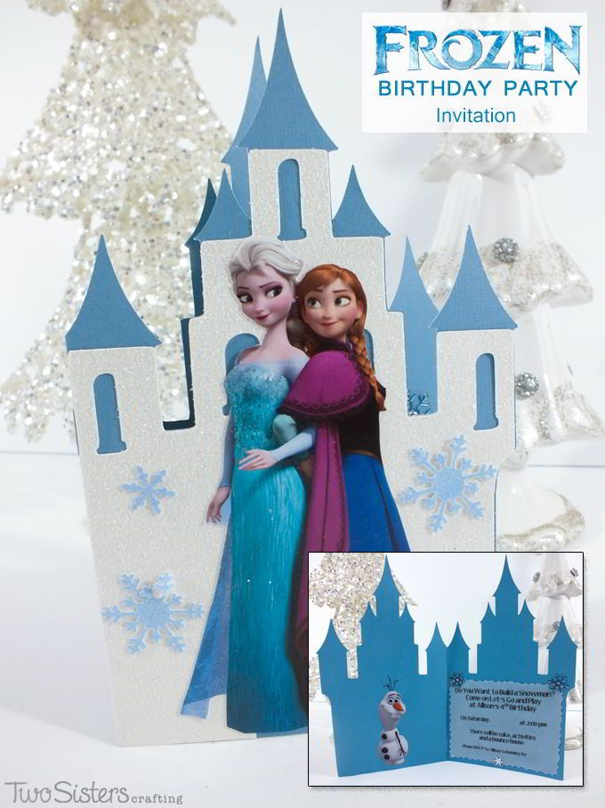 Make your own Disney Frozen Invitations