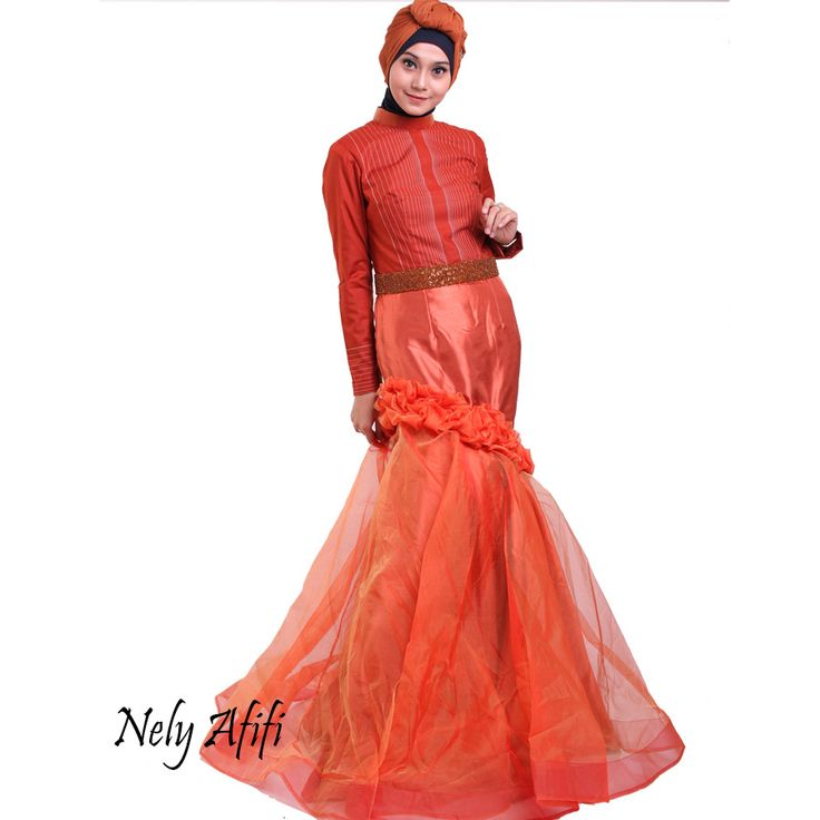 evening dress muslimah