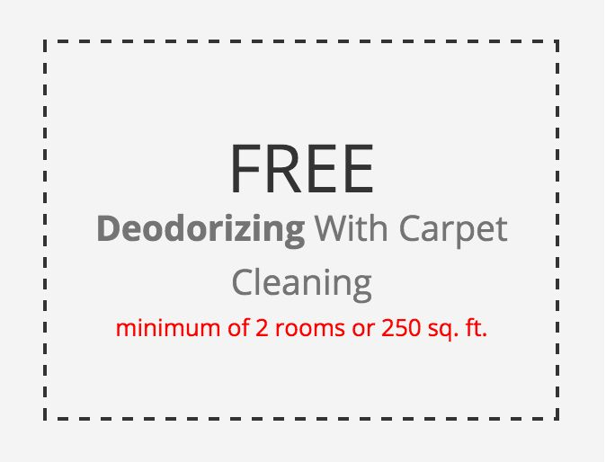 Get a free deodorizing with a carpet cleaning of 2 rooms or 250 sq ft. #carpetcleaning #njcparpetcleaning #deodorizing #home #cleaning
