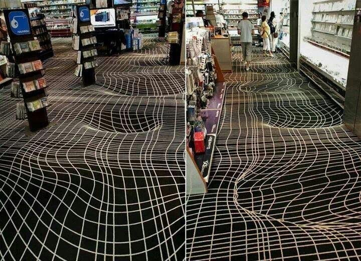 Very Cool Carpet Design.