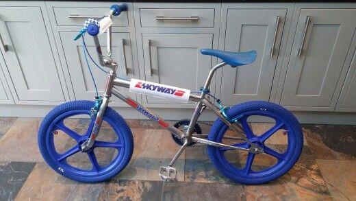 Skyway #bmx #oldschool  My Hubby's BMX