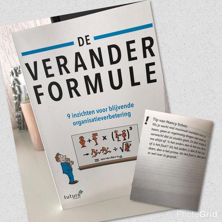 """Mooie reactie van lezer Michael over het boek 'De Veranderformule' van Jorien Weerdenburg: """"inspirerend, leest makkelijk weg, tips"""". #deveranderformule #jorienweerdenburg #futurouitgevers"""