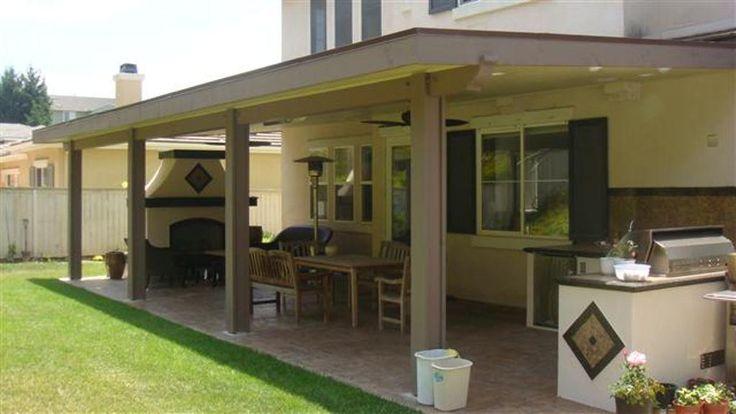 Wood Patio Cover Plans Outdoors Pinterest Wraps