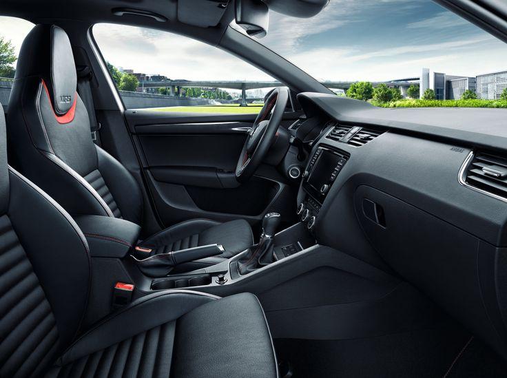 Nouvelle Octavia RS intérieur #OctaviaRS