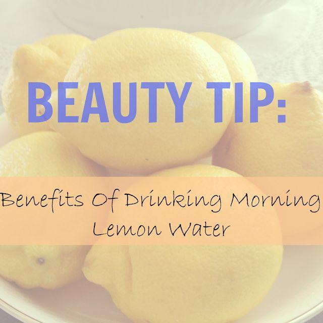 9 Beauty Benefits Of Drinking Morning Lemon Water