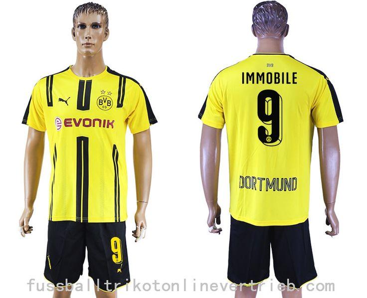 BVB Dortmund trikot IMMOBILE 9 heimtrikot kaufen günstige fußballtrikots 2016-2017