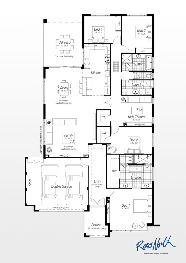 House plans with walk in pantry australia for House plans with walk in pantry