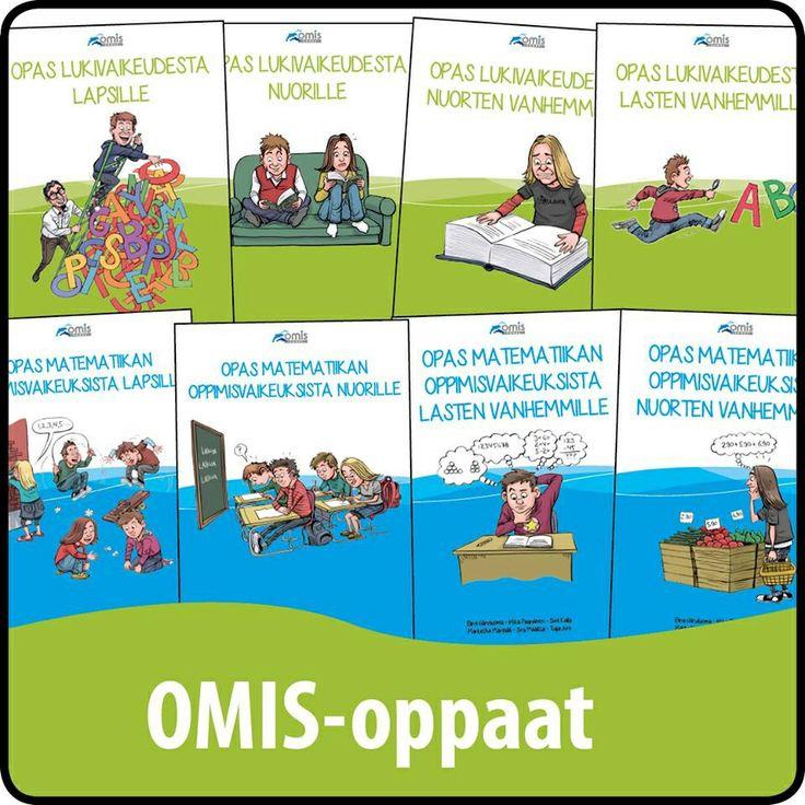 http://www.nmi.fi/julkaisut/ilmaiset-materiaalit/omis-oppaat Ilmaisia oppaita lapsille ja vanhemmille erilaisista oppimisvaikeuksista.