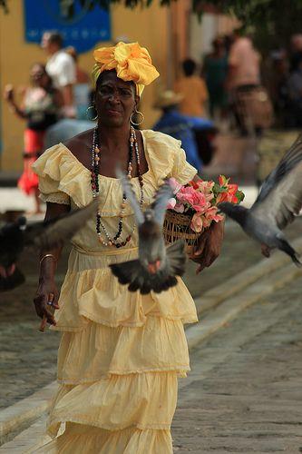 Traditional dress - Havana, Cuba
