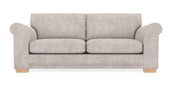 buy toulouse large sofa 3 seats sumptuous velour mid silver slim block light from the next. Black Bedroom Furniture Sets. Home Design Ideas