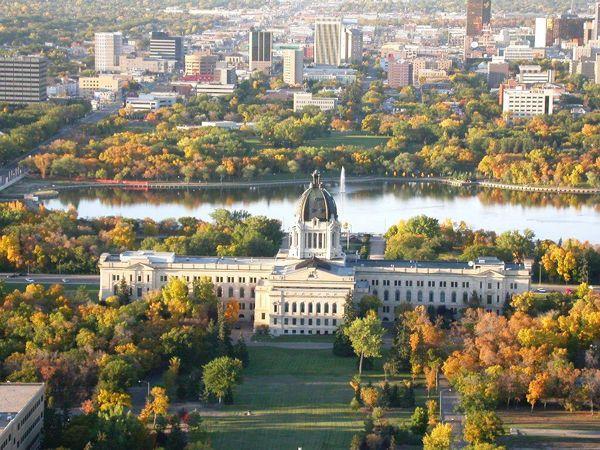 Saskatchewan Legislative Building, Regina, Saskatchewan