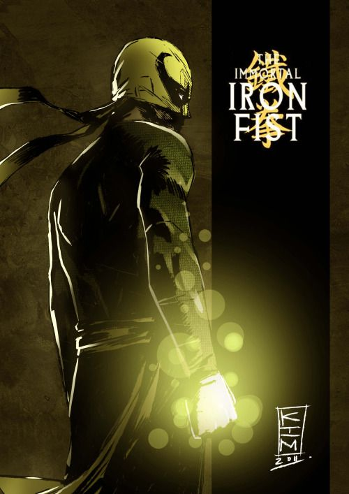 The Immortal Iron Fist - Kim Jacinto