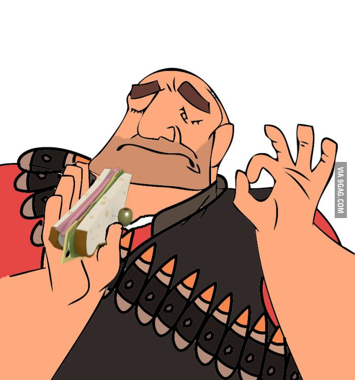 """When the sandvich tastes just right"" - Pacha Memes Edits. #theemperorsnewgroove #pachamemes #pachaedits #teamfortress #heavytf2 #tf2sandwich #tf2sadvich #heavysandwich"