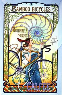 Wonderful example of a vintage bicycle poster!