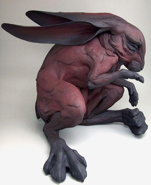 As esculturas em argila de Beth Cavener Stichter - BLCKDMNDS