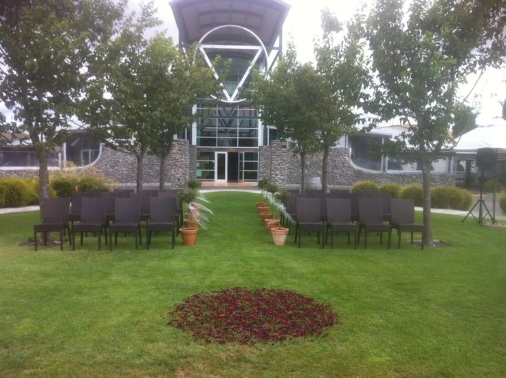 Ceremony Garden - Orton Tailored Cuisine @ Sileni Estates Winery, Hastings, HB