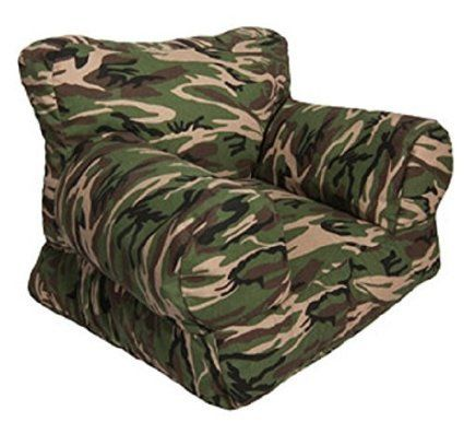 Camo Mi Chair for Toddlers a Bean Bag Chair for the Little Ones Babies and Toddlers Will Love This Low to the Ground Chair Comfort and Cute -- Click on the image for additional details.