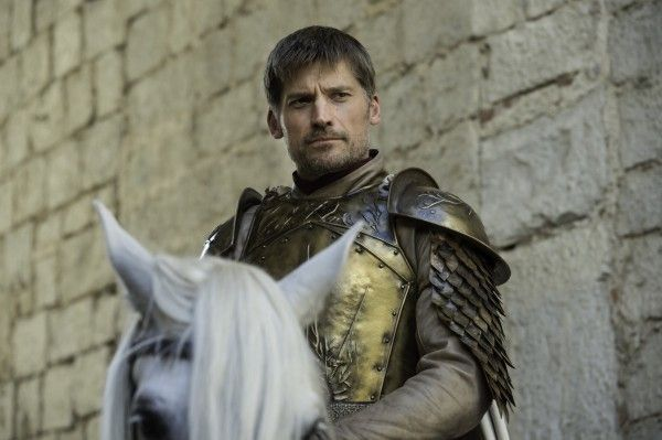 Jaime Lannister at the head of the kings guard - S6E6