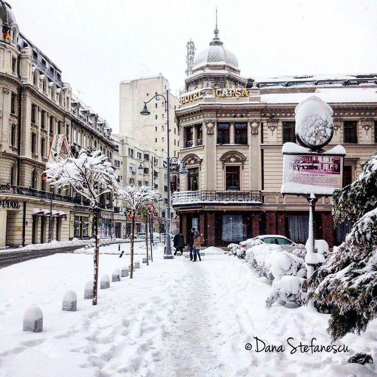 Capsa House on Victoriei Avenue - photo by Dana Stefanescu