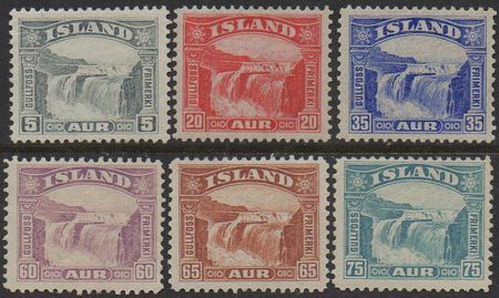 Iceland Stamps Price List
