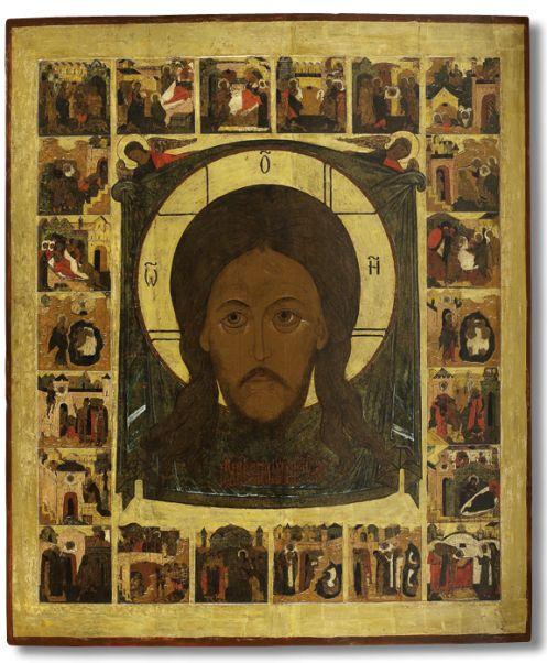 444 Спас Нерукотворный, с историей образа