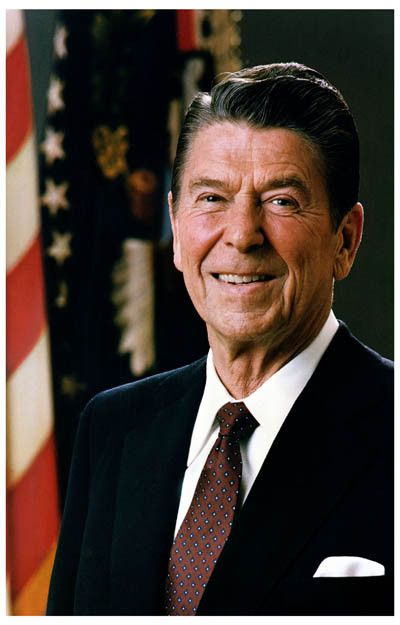 ronald reagan the 40th president of the united states essay Reagan and gorbachev: shutting the cold war down the 40th president of the united states emerges here not as a began nor ended with ronald reagan.