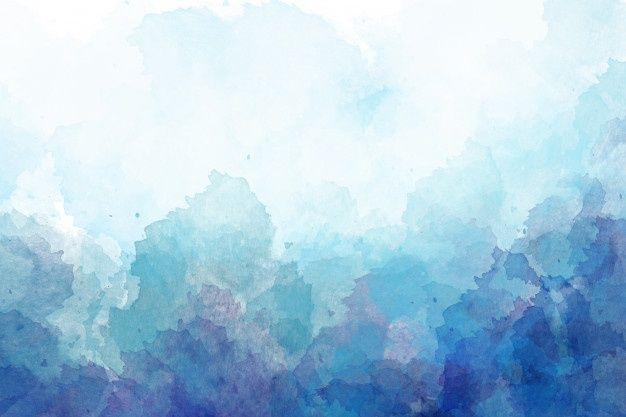 Blue Watercolor Background Digital Drawing Watercolor Background Purple Watercolor Digital Painting