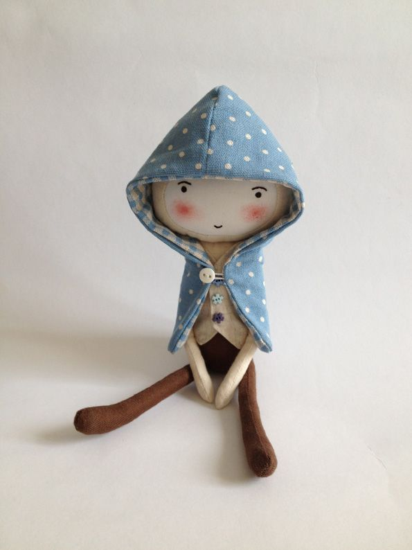 doll with cool hoodie
