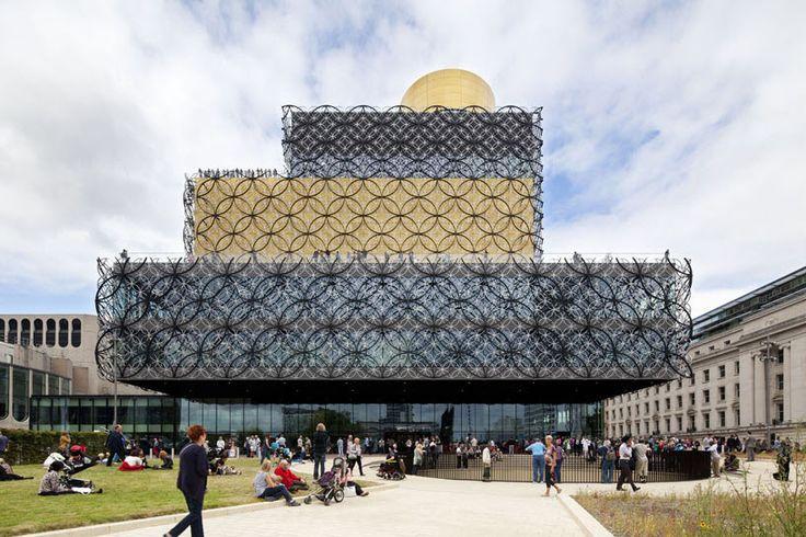 Library of Birmingham by Mecanoo architecten