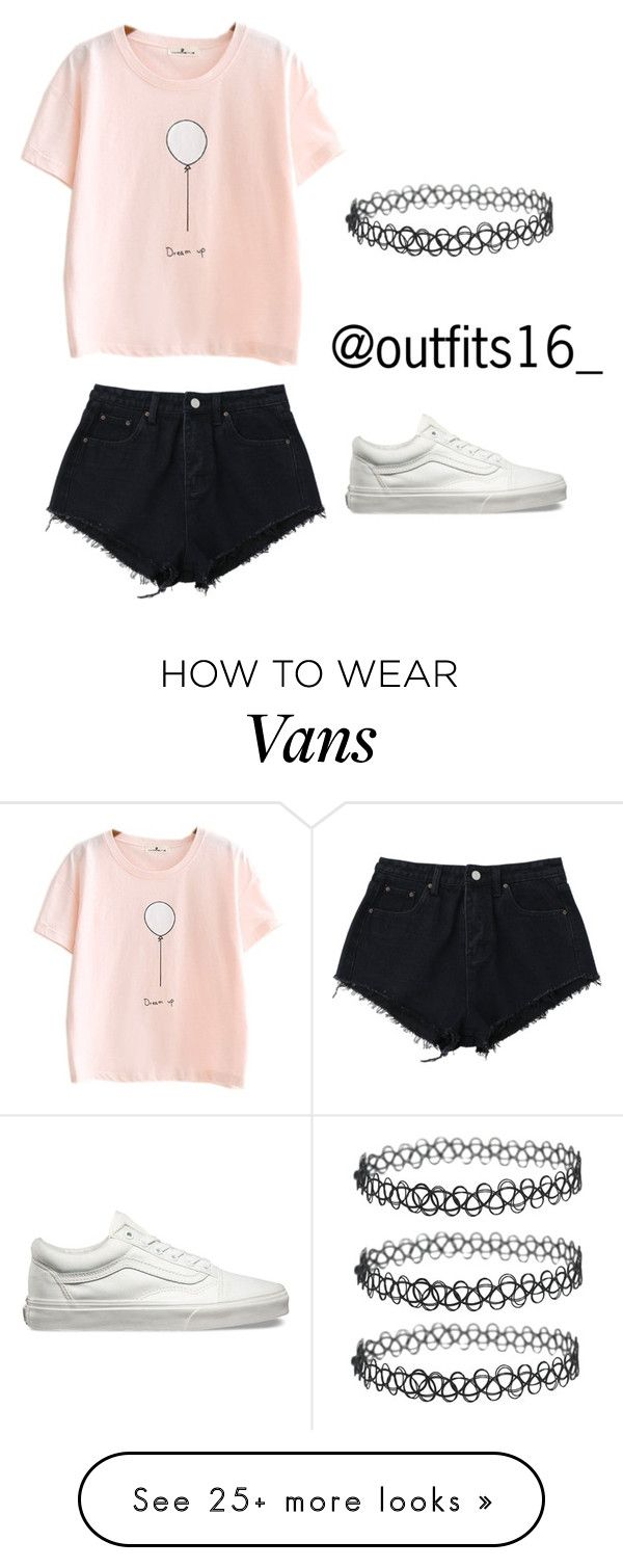 """Untitled #762"" by mariaparedes02 on Polyvore featuring Vans"