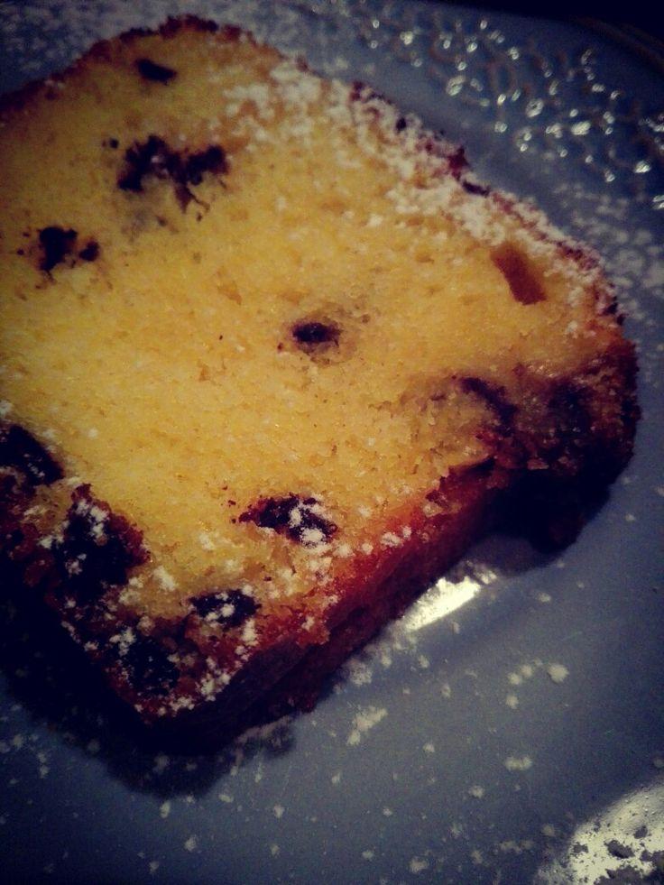 Plumcake con le gocce di cioccolato! 😊😊😊😊