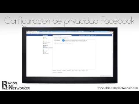 16. Configuración de la Privacidad en Facebook