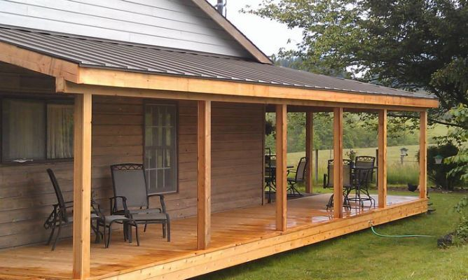 Corrugated Patio Cover Deck Masters In 2019 Porch