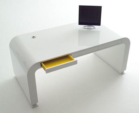 design white desk