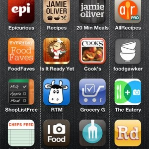 Best iphone apps for foodies