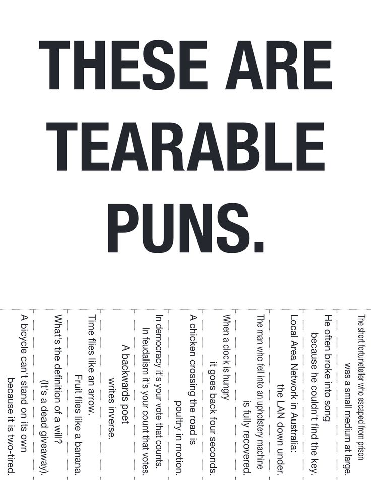 Tearable Puns. Gonna print this and put it around campus, see who takes.: Doors, Terrible Puns, Puns In Music, Awesome, Bad Puns, Bulletin Boards, Chuckles, Tearable Puns, So Funny